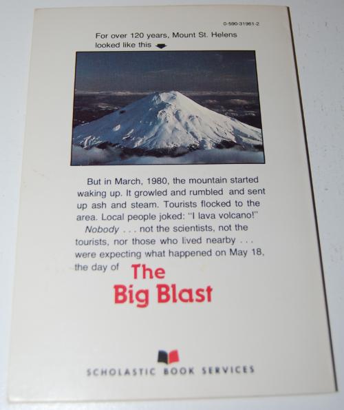 Mt st helens the big blast book