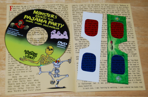 Monsters crash the pajama party dvd