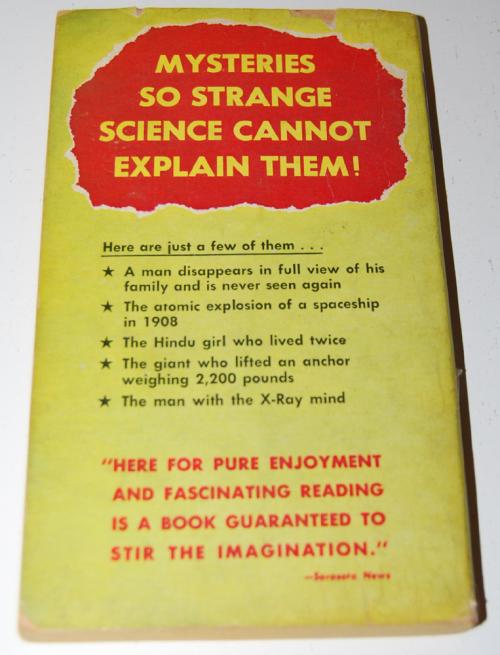 Stranger than science book