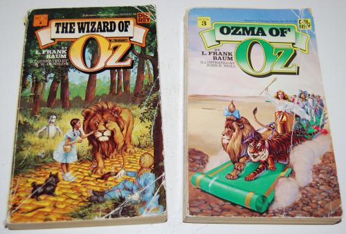 Del rey oz books