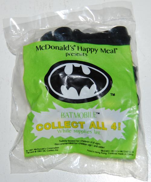 Happy meal toy batman 21