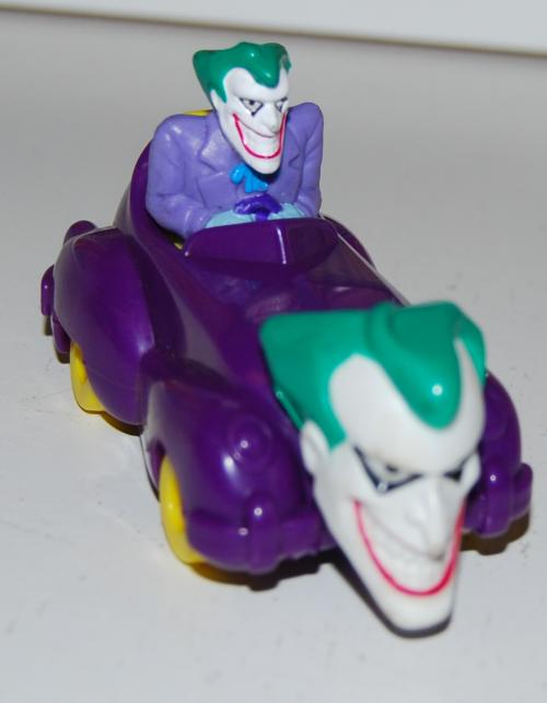 Happy meal toy batman 8