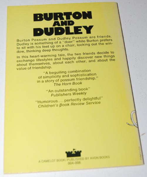Burton & dudley book