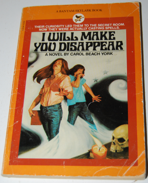 I will make you disappear