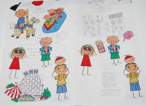 Kid stickers x