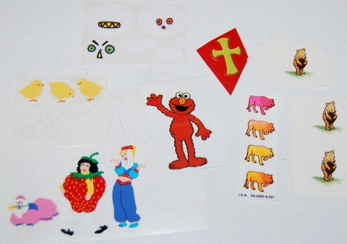Stickers etc