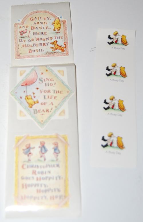 Winnie the pooh stickers