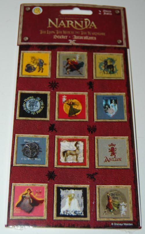Narnia stickers
