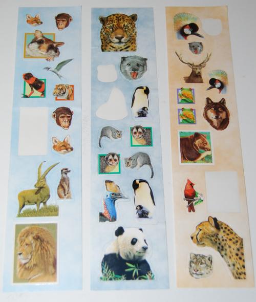 Animal stickers 3