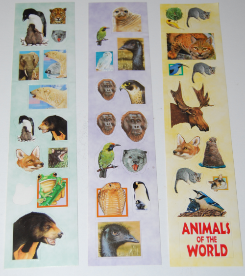 Animal stickers 5