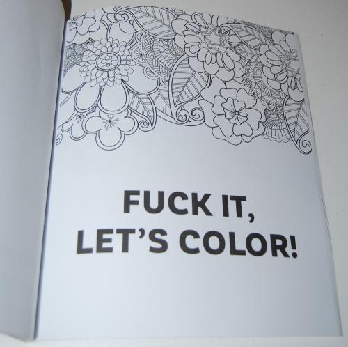 Swearing coloring books john t 19
