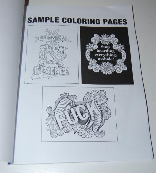 Swearing coloring books 1