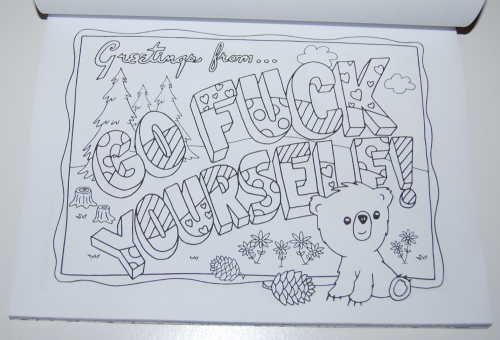 Swearing coloring books 5