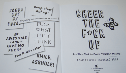 Swearing coloring books 11
