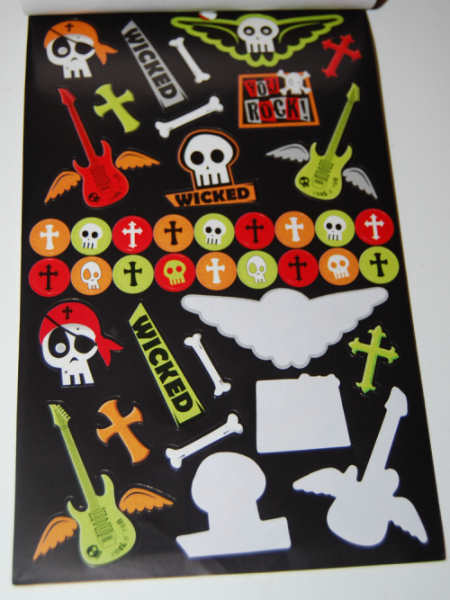 Rock out stickers x