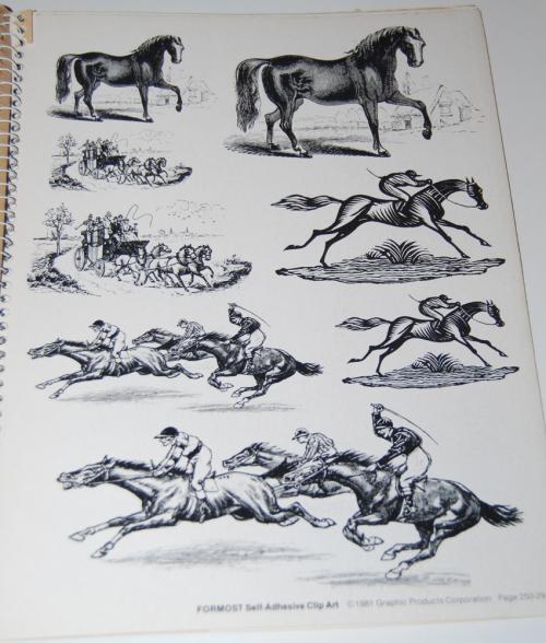 Victorian days clip art stickers 3