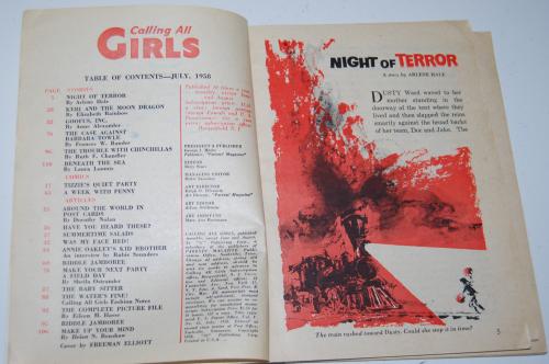 Calling all girls july 1958 1