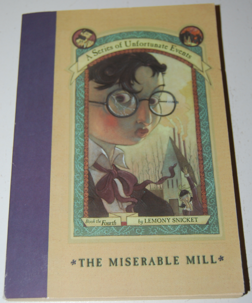 Lemony snicket a series of unfortunate events books 4