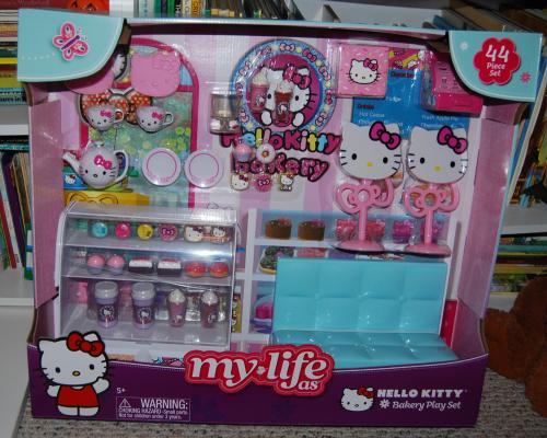 My life as hello kitty bakery set toy