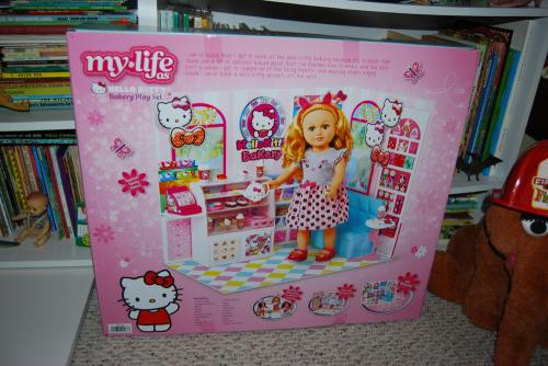 My life as hello kitty bakery set x