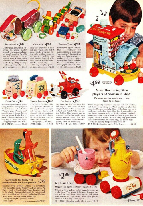 Vintage toy ads gumby