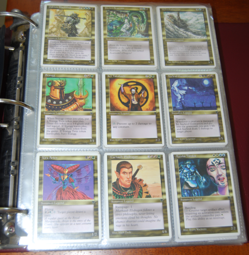 Magic the gathering cards 10