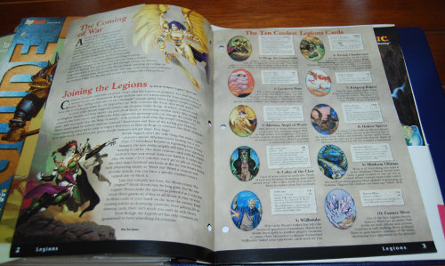 Magic the gathering top deck legions card guide x