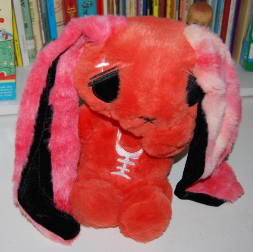 Mysterious anxiety rabbit alice plush