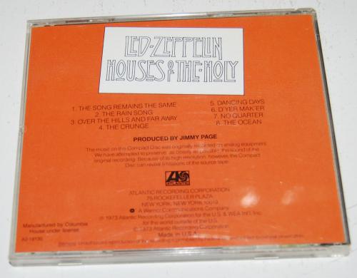 Led zeppelin cds 4x