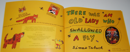 There was an old lady who swallowed a fly 1