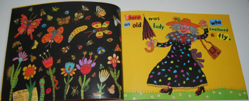 There was an old lady who swallowed a fly 2