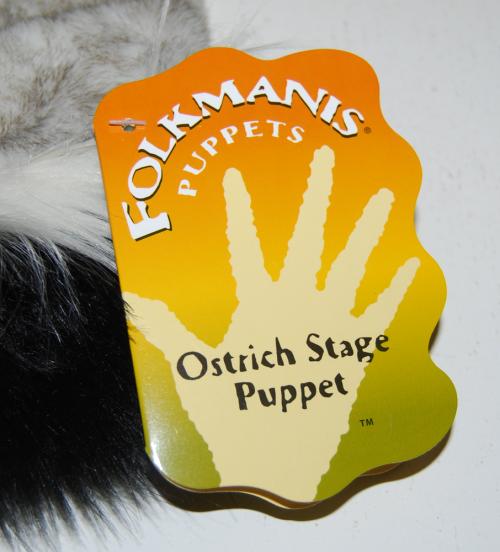 Ostrich puppet 1