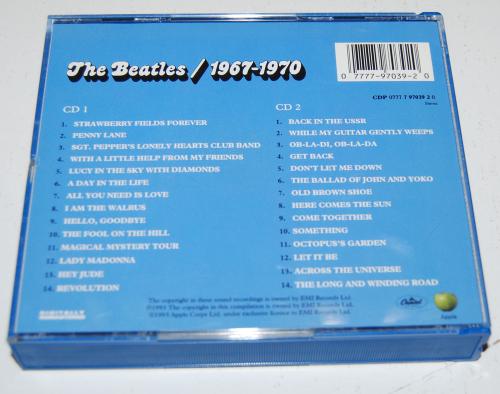 Beatles cds 3x