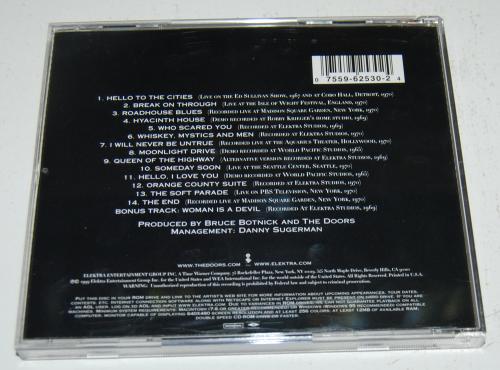 The doors essential rarities cd x