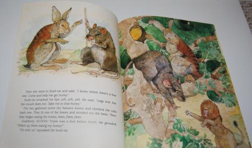 Rabbit makes a monkey of lion 3