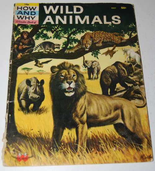 How & why book of wild animals
