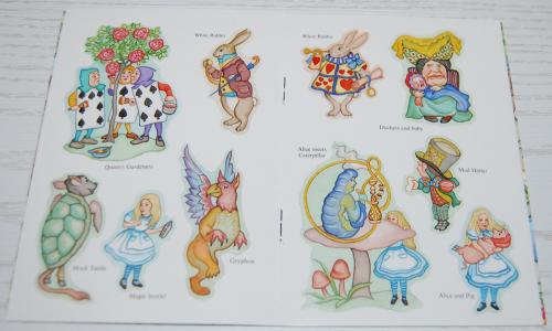 Alice in wonderland dover mini activity book dover x