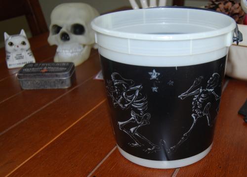 Halloween bucket jack in the box x