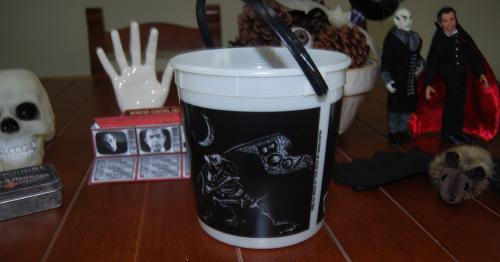 Halloween bucket jack in the box