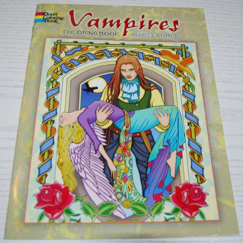 Dover vampires coloring book