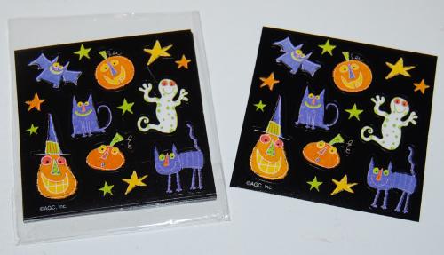 Halloween stickers mini