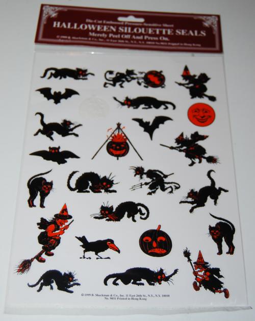 Halloween seals