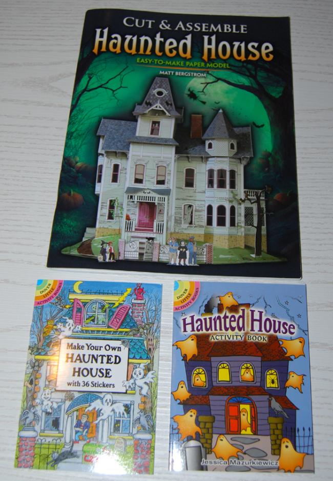 dover halloween mini books