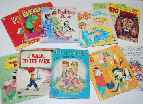 Little vintage books