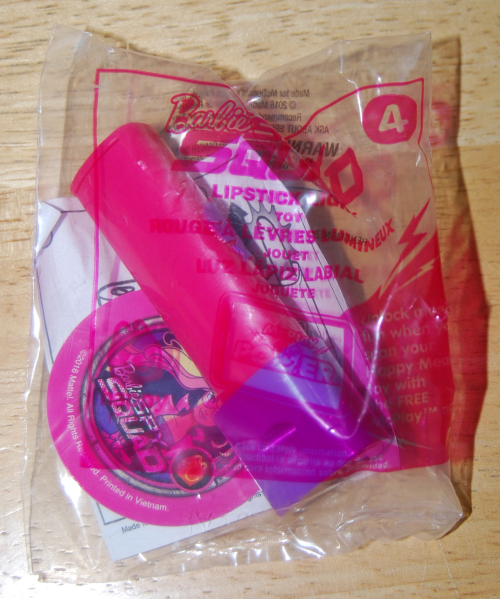 Barbie squad lipstick toy