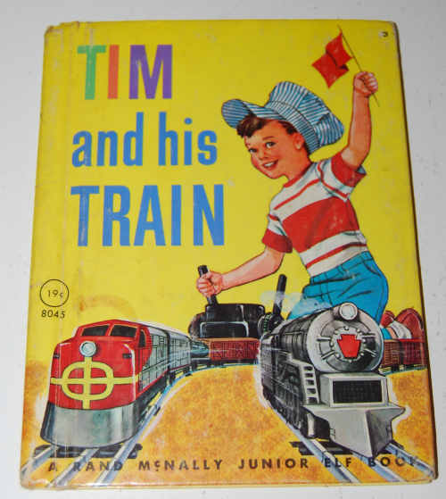 Tim & his train book
