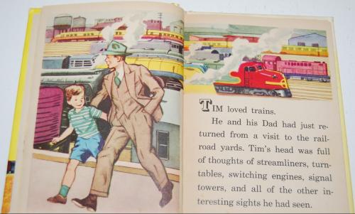 Tim & his train book 3
