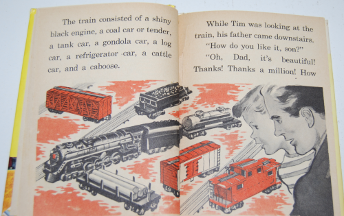 Tim & his train book 6