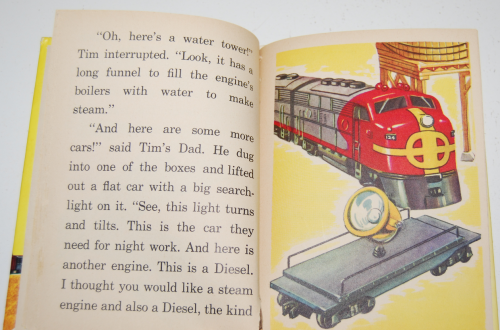 Tim & his train book 9