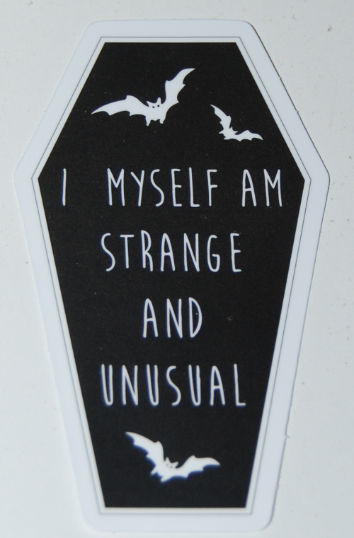 Goth stickers 3